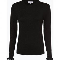 Marie Lund - Sweter damski, czarny. Fioletowe swetry klasyczne damskie marki Reserved, z falbankami. Za 129,95 zł.