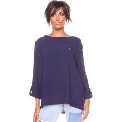 """T-shirty damskie: Koszulka """"Manon"""" w kolorze granatowym"""