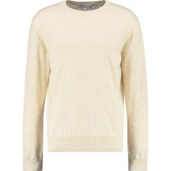 Swetry klasyczne męskie: YMC You Must Create BEL AIRS Sweter ecru