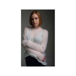 Sweter TET. Białe swetry oversize damskie Debora vogel, s, z dzianiny. Za 189,00 zł.