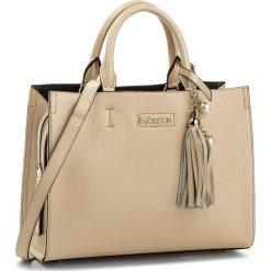 Torebka KAZAR - Catania 32861-01-03 Beige. Brązowe torebki klasyczne damskie Kazar, ze skóry, z breloczkiem. W wyprzedaży za 529,00 zł.
