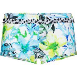 Figi bikini bonprix niebiesko-zielony z nadrukiem. Niebieskie bikini bonprix, z nadrukiem. Za 44,99 zł.