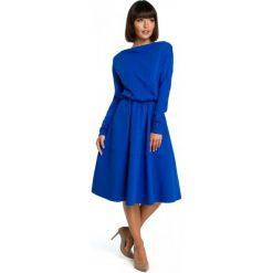Bewear Sukienka Damska L Niebieski. Niebieskie sukienki na komunię BeWear, na co dzień, s, z materiału. Za 259,00 zł.