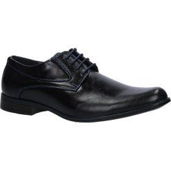 Czarne buty wizytowe sznurowane Casu MXC409. Czarne buty wizytowe męskie Casu, na sznurówki. Za 79,99 zł.