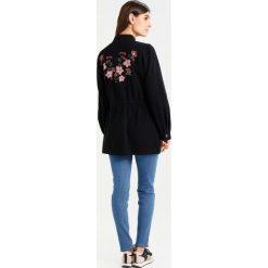 Płaszcze damskie pastelowe: Kaffe DAFFY Krótki płaszcz black