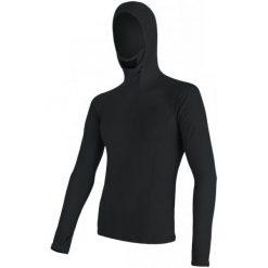 Odzież termoaktywna męska: Sensor Bluzka Z Kapturem Double Face Merino Wool M Black Xl