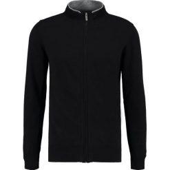 Swetry rozpinane męskie: Teddy Smith GRADI Kardigan noir