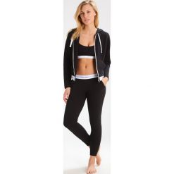 T-shirty damskie: Calvin Klein Underwear HOODIE FULL ZIP Koszulka do spania black