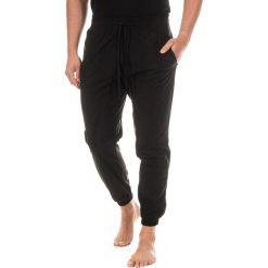 Piżamy męskie: Spodnie piżamowe w kolorze czarnym