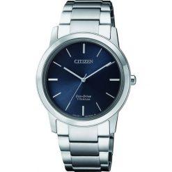 ZEGAREK CITIZEN Titanium FE7020-85L. Niebieskie zegarki damskie CITIZEN, ze stali. Za 980,00 zł.