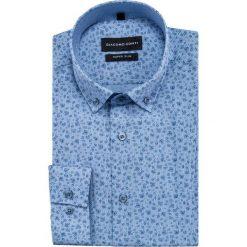 Koszula MICHELE KDNE000444. Czarne koszule męskie na spinki marki TOM TAILOR DENIM, l, z bawełny, button down, z długim rękawem. Za 169,00 zł.