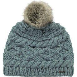 Barts - Czapka Claire Beanie dark celadon. Szare czapki zimowe damskie marki Barts, na zimę, z dzianiny. W wyprzedaży za 89,90 zł.