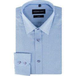 Koszula SIMONE KDWS000290. Białe koszule męskie na spinki marki Giacomo Conti, m, z bawełny, z klasycznym kołnierzykiem. Za 169,00 zł.