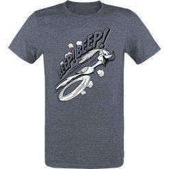 Looney Tunes Roadrunner - Beep! Beep! T-Shirt odcienie granatowego. Szare t-shirty męskie z nadrukiem Looney Tunes, xl, z okrągłym kołnierzem. Za 74,90 zł.
