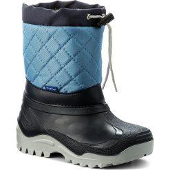 Buty zimowe chłopięce: Śniegowce MUFLON – 32-477CH Granatowy