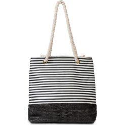 Torba plażowa w marynarskim stylu bonprix czarno-biały. Czarne torby plażowe marki FORCLAZ, z materiału, małe. Za 54,99 zł.
