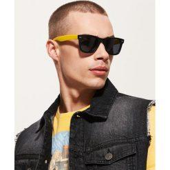 Okulary przeciwsłoneczne męskie: Okulary przeciwsłoneczne – Żółty