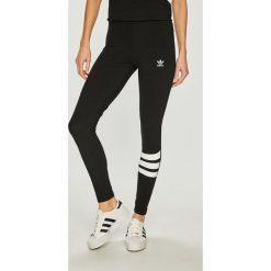 Adidas Originals - Legginsy. Brązowe legginsy marki adidas Originals, z bawełny. Za 149,90 zł.