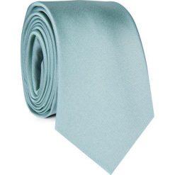Krawat KWZR001297. Zielone krawaty męskie Giacomo Conti, z mikrofibry. Za 69,00 zł.