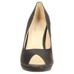 CZÓŁENKA CASU AH85871-1. Szare buty ślubne damskie Casu, na koturnie. Za 64,99 zł.