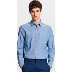 Bawełniana koszula - Niebieski. Niebieskie koszule chłopięce marki Reserved, l, z bawełny. W wyprzedaży za 39,99 zł.