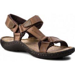 Sandały męskie skórzane: Sandały LASOCKI FOR MEN - MI18-975 Camel