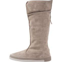 HUB DANCE BOOT Śniegowce dark taupe/cool taupe. Szare buty zimowe damskie HUB, z materiału. W wyprzedaży za 377,40 zł.