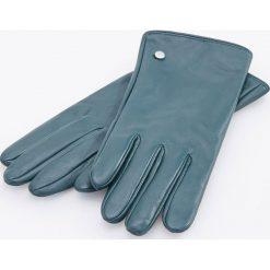 Skórzane rękawiczki - Turkusowy. Niebieskie rękawiczki damskie Reserved. Za 79,99 zł.