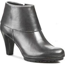 Botki TAMARIS - 1-25460-23 Anthracite 214. Szare buty zimowe damskie Tamaris, z materiału. W wyprzedaży za 209,00 zł.