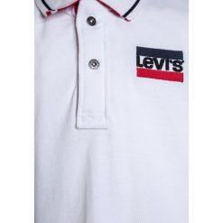 Levi's® NADDAL Koszulka polo white. Brązowe bluzki dziewczęce bawełniane marki Levi's®. Za 209,00 zł.