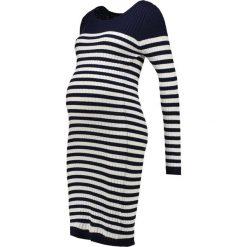 Sukienki dzianinowe: Zalando Essentials Maternity Sukienka dzianinowa peacoat