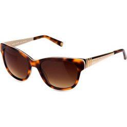 """Okulary przeciwsłoneczne damskie aviatory: Okulary przeciwsłoneczne """"SR773502"""" w kolorze brązowym"""