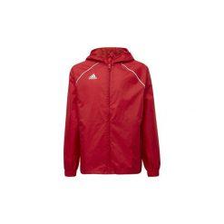 Kurtki krótkie Dziecko  adidas  Kurtka przeciwdeszczowa Core 18. Czerwone kurtki chłopięce przeciwdeszczowe marki Reserved, z kapturem. Za 149,00 zł.