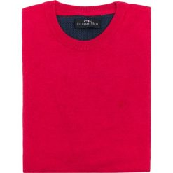 Sweter PIETRO L SWT000059. Czerwone swetry klasyczne męskie Giacomo Conti, l, z materiału. Za 199,00 zł.