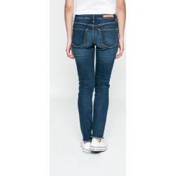 Tommy Hilfiger - Jeansy Como. Niebieskie jeansy damskie TOMMY HILFIGER, z bawełny. W wyprzedaży za 479,90 zł.