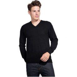 William De Faye Sweter Męski Xxl Czarny. Czarne swetry klasyczne męskie marki Polo Club C.H..A, m, dekolt w kształcie v. Za 259,00 zł.