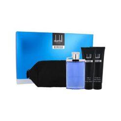 Kosmetyczki męskie: Dunhill Desire Blue Zestaw dla mężczyzn EDT 100ml + Żel pod prysznic 90ml + Balsam po goleniu 90ml + Kosmetyczka