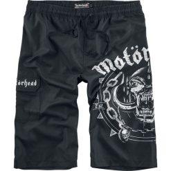 Motörhead EMP Signature Collection Kąpielówki czarny. Czarne kąpielówki męskie Motörhead, s, z nadrukiem. Za 144,90 zł.