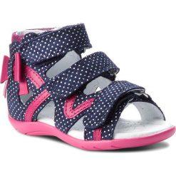 Sandały dziewczęce: Sandały BARTEK – 11707-3/1MP Niebiesko Różowy