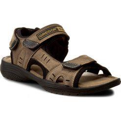 Sandały GREGOR - 01192-N240 Oliwka. Brązowe sandały męskie skórzane marki Gregor. Za 159,00 zł.