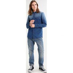 Koszule męskie na spinki: TOM TAILOR DENIM EMBROIDERED Koszula used light stone blue denim