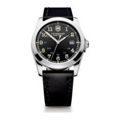 ZEGAREK VICTORINOX SWISS ARMY 241584. Czarne zegarki męskie Victorinox, szklane. Za 1750,00 zł.