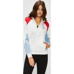 Puma - Bluza. Szare bluzy z kieszeniami damskie Puma, l, z bawełny, bez kaptura. Za 299,90 zł.