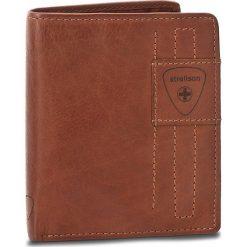 Duży Portfel Męski STRELLSON - Upminster 4010001929 Cognac 703. Brązowe portfele męskie Strellson, ze skóry. W wyprzedaży za 179,00 zł.