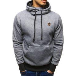 Bluzy męskie: Bluza męska z kapturem szara (bx1931)