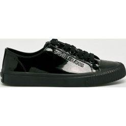 Calvin Klein Jeans - Tenisówki. Czarne tenisówki damskie marki Calvin Klein Jeans, z jeansu. Za 359,90 zł.