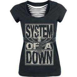 Odzież damska: System Of A Down Stacked Eagle Koszulka damska czarny