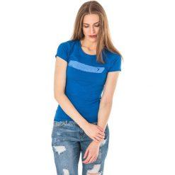 Outhorn Koszulka damska HOL18-TSD606 kobaltowa r. XL. Niebieskie bluzki damskie Outhorn, xl. Za 24,99 zł.