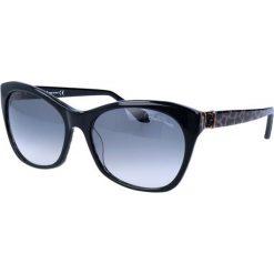 """Okulary przeciwsłoneczne damskie aviatory: Okulary przeciwsłoneczne """"RC730S"""" w kolorze czarno-brązowym"""