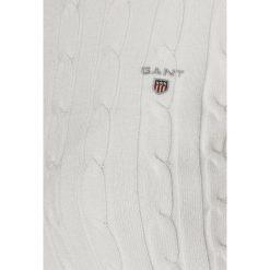 GANT Sweter off white. Białe swetry klasyczne damskie GANT, xl, z bawełny. Za 629,00 zł.